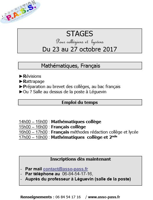 toussaint_stages_2017